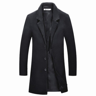 RM131.72-Mid-long Casual Business Trench Coat
