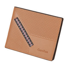 Men PU Leather 8 Card Slot Short Wallet Casual Wallet-US$9.29