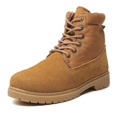 Men Suede Soft Causal Outdoor Boots-RM239.69