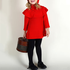 Girls Lolita Style Dress+Hat For 0-4 Years