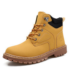 Men Outdoor Work Style Ankle Boots-RM189.89