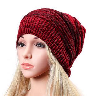 Women Winter Warm Oversized Slouch Cap B