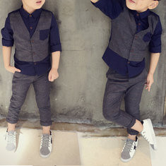 2Pcs Boys Formal Sets For 2Y-11Y-US$34.