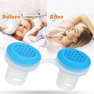 2 In 1 Silicone Anti Snore Air Purifier -US$6.99