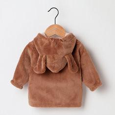 Boy Girls Warm Thick Fleece Coat For 6-48M