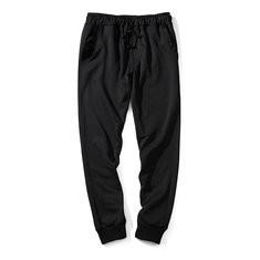 Drawstring Elastic Hem Running Sport Pants