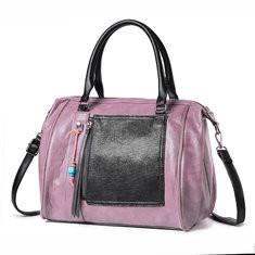 Brenice Faux Leather Large Capacity Tote Bag Handbag-RM156.08