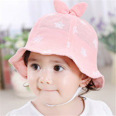 Comfy Baby Bucket Cap For 6-36M-US$10.00