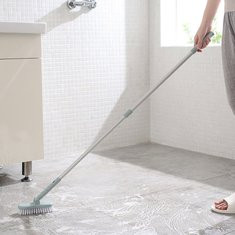 Retractable Bathroom Long Handle Brush-US$9.67