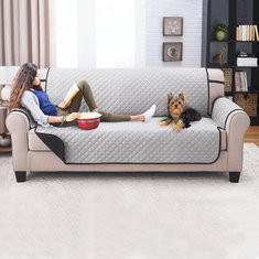 KCASA KC-PCP1 Reversible Quilted Furniture Protector Cover Solid Color Recliner Sofa Cover Home Decor-RM81.18 ~ 123.94