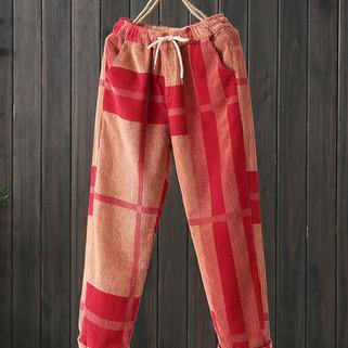 RM172.82 -Casual Irregular Printed Pants
