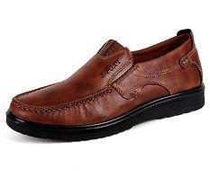 Men Shoes Large Size Retro Color Soft Sole Casual Driving Shoes - RM86.28