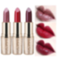 QIC Metallic Matte Lipstick Moisturizer Smooth Lips Stick Long Lasting Charming Cosmetic - RM40.74
