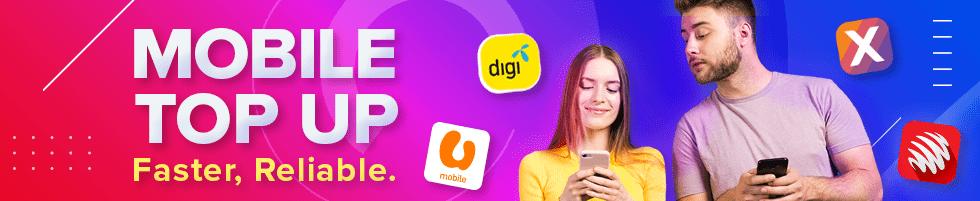 Malaysia - Mobiles Top Up