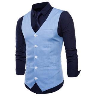 Formal Pure Color Vest-US$20.92