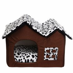 Portable Luxury Pet Dog Cat Bed House-US$32.99