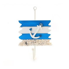 Nautical Style Wood Hook-US$4.66