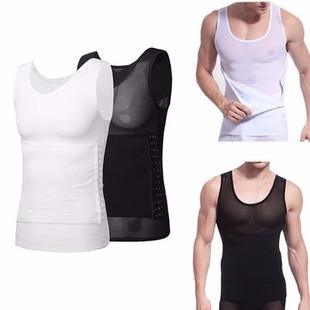 Men Waist Slimming Vest -US$26.90