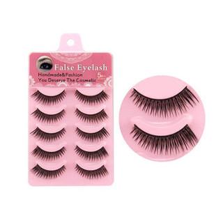 5 Pairs 3D Mink False Eyelashes -US$7.99