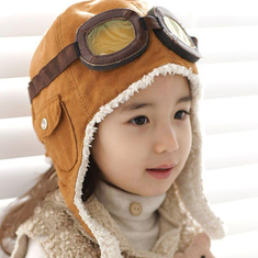 2-6 Years Kids Aviator Pilot Hat-US$12.00