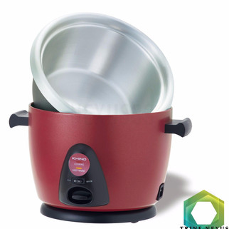 KHIND Anshin Stainless Steel Inner Pot Rice Cooker RC128M + Stainles-RM291.00