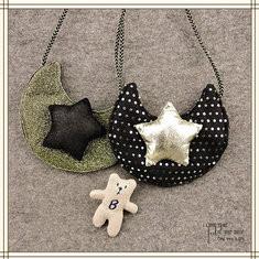Kindergarten Children Kids Cute Cotton Handbag Moon Star Casual Crossbody Bag-US$8.14