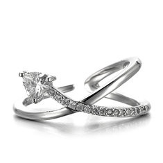 JASSY® Luxury 925 Silver Zircon Ring -US$19.79