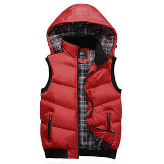 Detachable Hooded Winter Thickened Warm Casua-US$32.66