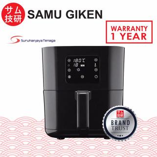 SAMU GIKEN Digital Air Fryer with Touch Control AFD-2540B-RM189.00