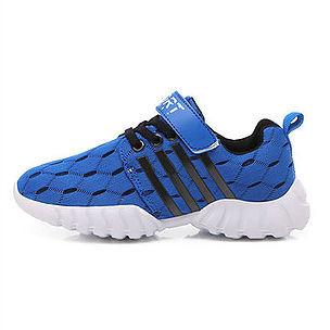 Unisex Kids Mesh Breathable Suspension Hiking Sneakers -US$23.66