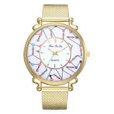 Fashion Quartz Gold Watches-RM68.60