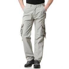 100% Cotton Multi Pockets Cargo Pants-US$35.26