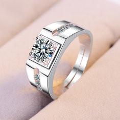 Elegant Open Couple Rings-US$11.99