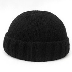 Vogue Wool Knit Brimless Cap-RM50.38