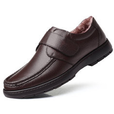 Men Genuine Leather Soft Sole Causal Shoes-RM202.40