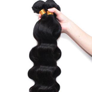 1 Bundle Brazilian Human Hair Extensions -US$30.12