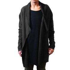 Casual Oversized Stitching Long Hooded Cardigan -US$24.39