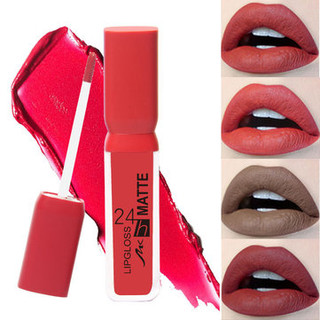 Nude Matte Color Liquid Lipstick -US$9.99