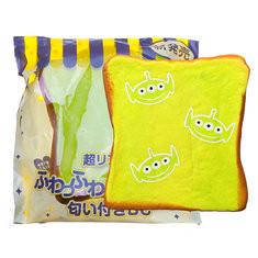 Alien Small Expression Bread Squishy-US$7.96