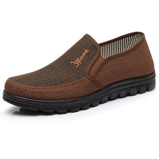 Men Fabric Slip On Casual Driving Shoes -US$21.83