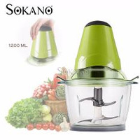 SOKANO 250W Powerful Mini Mixer and Blender with 2000ml Large Capacity-RM34.00