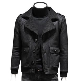 PU Leather Casual Black Shearli-US$59.88