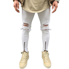 Casual Ripped Jeans-US$19.59