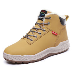 Men Warm Outdoor Causal Leather Boots-RM1185.44