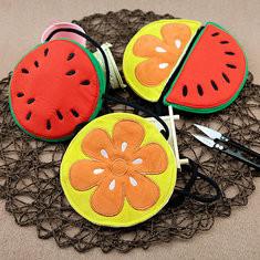 Watermellon Orange Cartoon Kids Cute Crossbody Bag Shoulder Bags-US$5.06