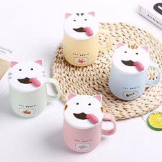 Cute Cat Mug-US$14.00