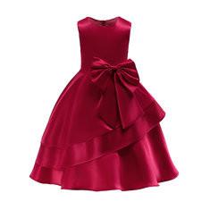 Girls Sleeveless Formal Dress For 3Y-13Y-US$128.54