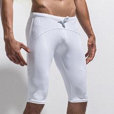Men Elastic Waist Joggers Fitness Shorts-US$17.77