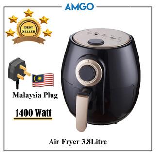 AMGO 3.8L Capacity Air Fryer [Malaysia 3-Pin Plug] RM159.88