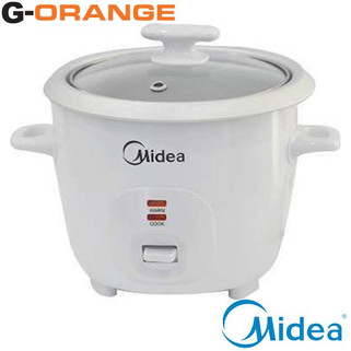 Midea MG-GP06B 0.6L Rice Cooker [G-Orange]-RM46.00